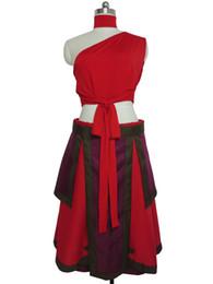 Wholesale Halloween Costume Xs - The Last Airbender Zuko Katara Halloween Suit Cosplay Costume