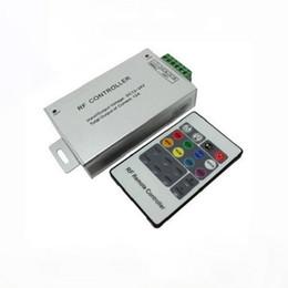 Wholesale module rgb led - DC12V-24V 12A Wireless RF Led Remote Controller 20 Key rgb led controller For SMD 5050 3528 LED Strip lights modules