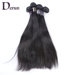 """Wholesale Straight Mixed Weave - Free Shipping!Mix 4 Bundles Brazilian Virgin Human Hair Weft 12""""-30"""" Silky Straight Hair Extention Natural Color Hair Weave 100g pcs"""