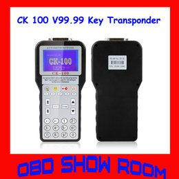 Wholesale Sbb Cable - Multi-languages Optional CK100 CK-100 Auto Key Programmer The New Generation of SBB CK 100 V99.99 Key Transponder Hot Sale