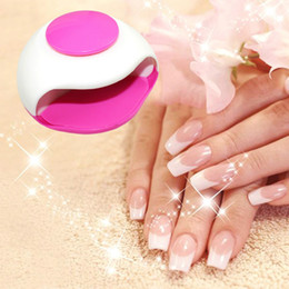 Wholesale Painting Finger - Good Quality Fashion Mini Portable Hand Finger Toe Nail Art Polish Paints Dryer Blower Tool 1PC