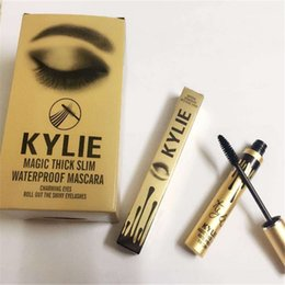 Wholesale Black Stockings Slim - In stock 2016 Newest Kylie Jenner Mascara Magic thick slim waterproof mascara Black Eye Mascara Long Lasting Eyelash creams