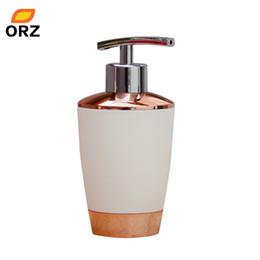 Wholesale Bamboo Gel - Wholesale- 350ml Refillable Bottles Cosmetic Foam Shampoo Shower Gel Lotion Sub-bottling Tube Elegant Bathroom Storage Tools