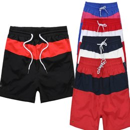 Wholesale Relaxing Canvas - Low-cost summer European-style high-quality men's shorts beach pants belt beach cuffs standard standard male and female shorts DHL free M-3X