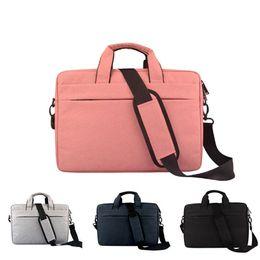 Wholesale Women Laptop Bag 17 - New Laptop bag macbook pro air 13 14 15 15.6 inch Nylon waterproof computer bag handbags for men Women shoulder Messenger notebook bag