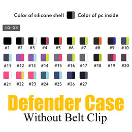Wholesale Top Belts - Top Quality Hybrid Defender Case Without Belt Clip for iPhone 7 Plus 6 6S Plus 5 5S Galaxy S8 Note 5 S7 edge S6 edge Shockproof Cases
