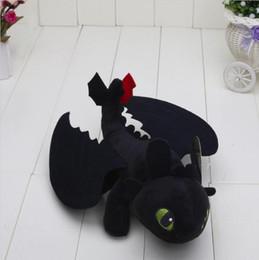 Wholesale Dragon Toothless Plush - Night Fury Plush Toy How to Train Your Dragon Toothless Toys Plush Dolls Toys for baby boys girls kids children
