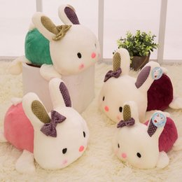 Wholesale Nice Rabbits - Small Size 20CM Lovely Rabbit Plush Doll Plush Stuffed Toy Nice & Lovely Gift 1PCS Free Shipping
