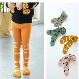 Wholesale Hot Pretty Girls - Pretty Girls Cartoon Pantyhose Ins hot Stars Tree Horse Cloud Babyighs Infants Cotton Tights Kids Cute Stockings multicolor 3sizes