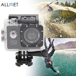 Wholesale Good Sports Cameras - Wholesale- Good Quality 12MP Ultra HD 1080P Waterproof Action Camcorder Sports DV Camera Car Cam