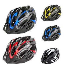 Wholesale Material Eps - Professional Road Bike Bicycle Cycling Safety Helmet Hat Cap EPS+PC Material Ultralight Breathable MTB Cycling Helmet Free Shipping