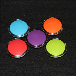 Wholesale Tool Box Make Up Storage - Acrylic silicon container 6ml wax concentrate make up silicone containers box food grade ABS makeup case dab dabber jars tool storage