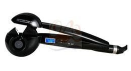 Wholesale Fixing Hair Color - black color electric hair curling irons women hair styling tools quickly hair curler GS7935