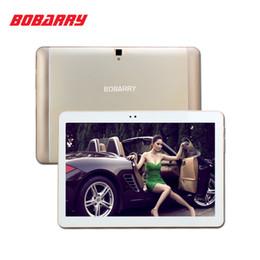 """2019 câmera g sensor comprimido Atacado-BOBARRY 10.1 """"Tablet Android 6.0 Octa Core 64 GB ROM Dual Camera / Dual SIM Tablet PC Suporte OTG WIFI GPS 4G LTE telefone bluetooth"""