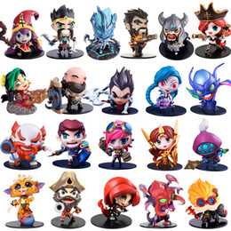 Wholesale Boxed Action Figures - Cute League of Legends Action Figure Toys Kawaii Collect Game Anime Model Garage Kit with box gifts
