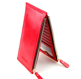 Wholesale Popular Korean Purses - HENGSHENG Hot Sale European And American Style woman Wallet Fashion Popular Long Male Wallet And Purse Small Zipper Card Holders