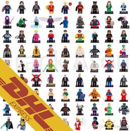 Wholesale Spiderman Blocks - Super Heroes Minifig 631 Roles Mix Order The Avengers Bat Movie Spiderman Super Man Figures Super Heroes Pump Mini Building Blocks Figure