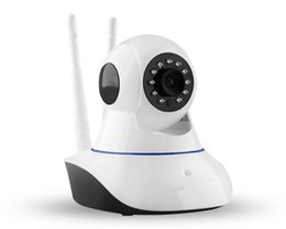 Wholesale New Wireless Baby Monitor - New Security Wireless Mini IP Camera Surveillance Camera WIFI 720P Night Vision CCTV Camera Baby Monitor HD 1.0MP Can With Logo