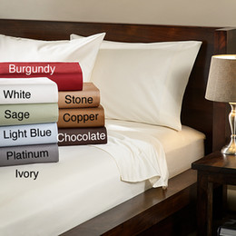 Постельное белье из микрофибры онлайн-Wholesale- Soft Brushed Microfiber bed Sheet Set Deep Pocket - Queen - Gray