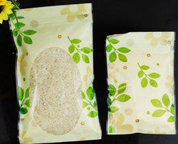 Wholesale Grip Seal Bags - 03.01 12*20cm Transparent plastic ZipLock bag Reusable plastic pouches zipper grip seal,selfsealed flower printed bags