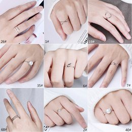 Wholesale Titanium Cat Ring - 2017 Free Shipping 925 Sterling Silver Cat Rings For Women Jewelry Beautiful Finger Open Rings For Party Birthday Gift