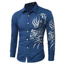 Wholesale Mens Designer Shirts Wholesale - Wholesale- 2016 The New listing Mens Famous Designer Solid Stripe Comfortable Trendy Stylish Male Dress Shirt camisa masculina