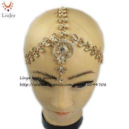 Wholesale Diamante Hair Bands - HC-192 Diamante head band hair jewelry wedding bridal head Jewelry birthday boho