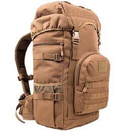 Wholesale College Backpacks Men - Men Women Outdoor Military Army Tactical Knapsack Trekking Sports Travel Rucksacks Camping Hiking Trekking Camouflage Bag Backpacks