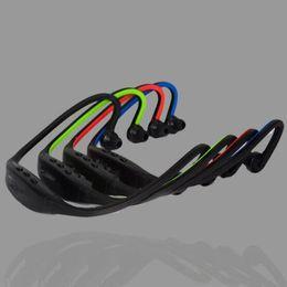 kostenlose handy-musik Rabatt Stereo-Hals Bluetooth-Kopfhörer Sport-Headset In Ear Wireless-Ohrhörer Kopfhörer Hifi Music Player für iPhone Handy DHL-frei USZ055