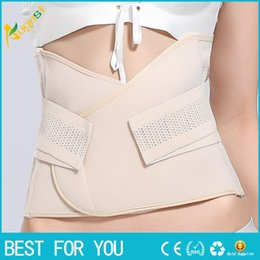 Wholesale fat trimmings - New hot Women Weight Loss Corsets Cincher Belt Corset Slimming Waist Trainer Underwear Postpartum Tummy Trimmer Body Fat Burne