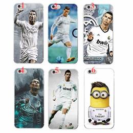 Wholesale Cristiano Ronaldo Iphone Cover - Cool Cristiano Ronaldo Love Football Pattern Soft TPU Case Cover for iPhone 4 4s 5 5s 5c 6 6s 6 Plus 6s Plus