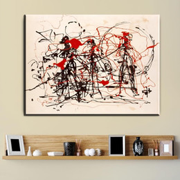 Wholesale Painting Poles - Jackson Pollock the blue poles number 11 The Most Expensive Oil Painting Printed On Canvas Living Room and Bedroom Cuadros