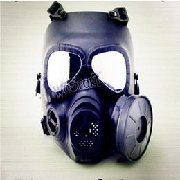 Wholesale Field Factory - Factory direct sale M04 gas mask cs field tactical mask lens anti-fog exhaust equipment