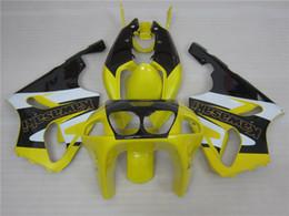 Wholesale Kawasaki Zx7r Fairing Black - 3 free gifts New Hot ABS Motorcycle Fairing kits 100% Fit For Kawasaki Ninja ZX-7R 1996 - 2003 ZX-7R Black Yellow White
