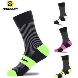 Wholesale Professional Mountain Bikes - High quality Professional Monton brand sport socks Breathable Road Bicycle Socks Mountain Bike Socks Racing Cycling Socks Shuguang