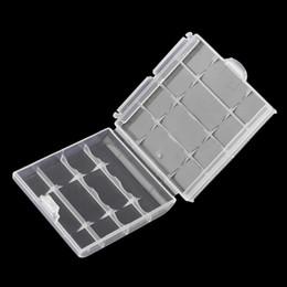 2019 aa embalagem da bateria Novo rígido plástico caso titular da tampa para AA / AAA caixa de armazenamento de bateria digital quente $ 15 sem pista desconto aa embalagem da bateria