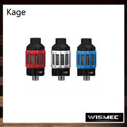 Wholesale h2 tanks - Wismec Kage Atomizer 2.8ml Intuitive Slide-top Filling design Tank With WT-H2 WT-V3 Coil Creative Child Lock System 100% Original