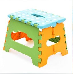 Wholesale Stool Plastic - Wholesale- Lightweight OUT DOOR chair fold Three crown plastic folding stools portable folding stool, fishing stool plastic stool D088