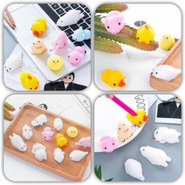 Wholesale Toy Seal Animal - Super Cute White Squishy Seal Squishies Funny Simulation Toys Vent Toys Gift decompression Fashion toy
