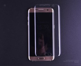 Wholesale Film Covering - For Samsung Galaxy S8 S8 Plus S7 Edge S6 Edge Full Cover TPU Explosion Film Screen Protector 3D Curved Soft Film Not Tempered Glass Film
