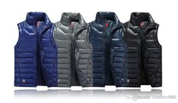 Wholesale Foreign Money - Foreign hot money men's winter outdoor super light size down jacket down jacket collar down vest