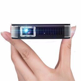 wireless video hdmi Promo Codes - Wholesale-U9 4000Lux Portable Mini LED Projector Wifi Smart DLP Pico Projector HDMI USB VGA Wireless Control for Business Travel Outdoor