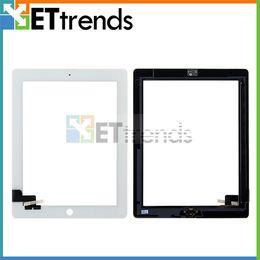 Canada Vente en gros Écran Tactile Digitizer Assembly pour iPad 2 3 4 avec Bouton Accueil 3M Adhésif Colle Autocollant Pièces De Rechange Réparation AA0013 Offre