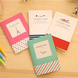 Wholesale Smiley Paper Diary - Wholesale- Mini Smiley Diary Notebook Memo Paper Diary Planner Exercise Book Gift School Supplies Stationery Note Pads Pocketbook H0012
