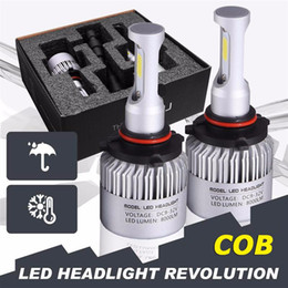 Wholesale Headlamp Replacement Wholesale - S2 COB H7 LED Headlight 72W 8000LM All In One Car LED Headlights Bulb Headlamp Fog Light 12V Auto Replacement Parts 6500K
