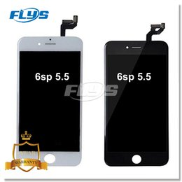Wholesale Iphone Color Touch Screen - LCD Display For iPhone 6S Plus 5.5 inch 6sp Screen Touch Digitizer Full Assembly Replacement With 3D Touch Free DHL Black & White Color