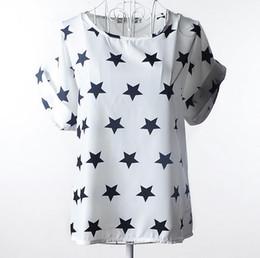 Mulheres t shirts seda on-line-Verão mulheres camiseta de seda Chinesa 2017 tops tees mulheres clothing chiffon o-pescoço da moda das mulheres T-shirts para manga curta