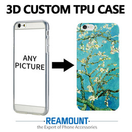 Wholesale Names Galaxies - 3D DIY Name Photo Customized Cover Case for samsung galaxy s6 for iphone 7 case 4.7 inch Relief Mobile Phone Case