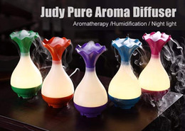 Wholesale Micro Night Light - Free DHL aroma diffuser humidifiers air purifier diffuser humidifier with micro usb charger and led night light function