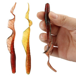Wholesale Silicone Fishing Bait Fish - 20pcs lot ROSEWOOD Classic Soft Lures Worms 13cm 5-Inch 4g Swimbaits Artificial Bait Silicone Lure Lifelike Fishing Tackle Fishing Lures